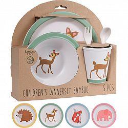 5-dielna detská jedálenská súprava, Slon