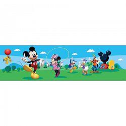 AG Art Samolepiaca bordúra Mickey Mouse a jeho priatelia, 500 x 14 cm