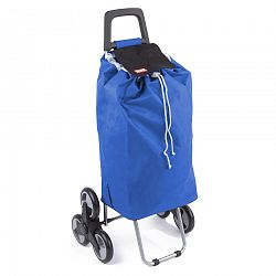 Aldo Nákupná taška na kolieskach Madrid, modrá