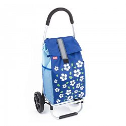 Aldo Nákupná taška na kolieskach Paris, modrá