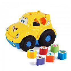 Baby Vkladačka pre najmenších Auto, 30 cm