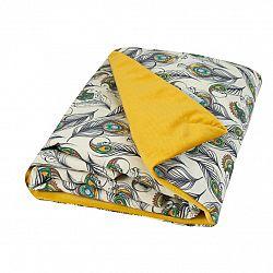Babymatex Detská deka Velvet béžová, 75 x 100 cm