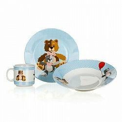 Banquet 3-dielna detská súprava Medvedík, modrá