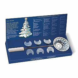 Betlemia Tradičné vianočné liatie olova, 7 ks