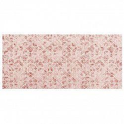 BO-MA Trading Běhoun červená, 40 x 90 cm