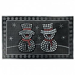 BO-MA Trading Gumová rohožka Snehuliaci, 40 x 60 cm