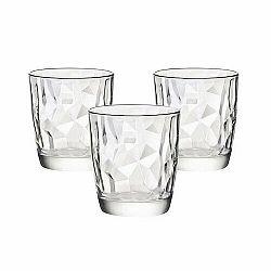 Bormioli Rocco 3-dielna sada pohárov Diamond, 300 ml