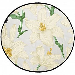 Butter Kings Bavlnený herný koberec Lilies, 130 cm