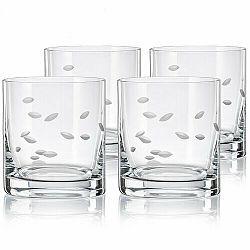 Crystalex CXBR788 4-dielna sada pohárov na whisky, 280 ml