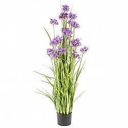 Dekoračné lúčne kvety 120 cm, fialová