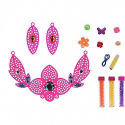 Detská sada na výrobu šperkov Náhrdelník, ružová