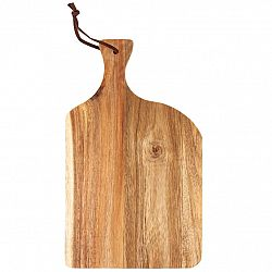 Drevená doštička na krájanie, 20,5 x 34 x 1 cm