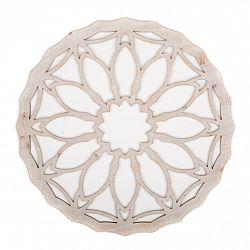 Drevená nástenná dekorácia Amilly, 60 x 60 cm