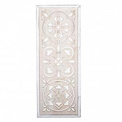 Drevená nástenná dekorácia Vezelay, 32 x 82 cm