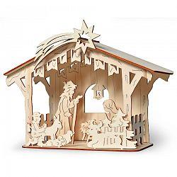 Drevený betlehém stavebnica, HTH