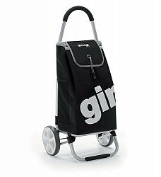 Gimi World Galax nákupní taška na kolieskach čierna taška