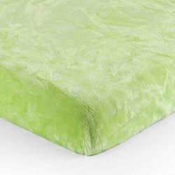 Jahu Plachta Mikroplyš zelená, 90 x 200 cm