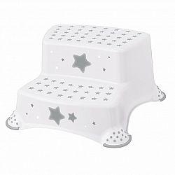 Keeeper Detská stolička Stars biela 40 x 37 x 21 cm