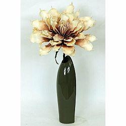 Keramická váza Acre zelená, 35 cm