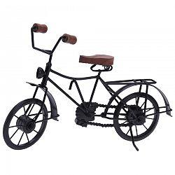 Kovová dekorácia Bicyclette čierna, 36 x 11 x 20 cm