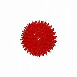 Modom Masážna loptička Ježko červená, pr. 8 cm SJH 14