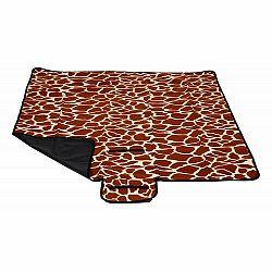 Modom Pikniková deka hnedá, 150 x 135 cm