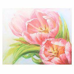Obraz na plátne Pink tulips