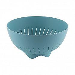 Plastové cedidlo 24 cm, modrá