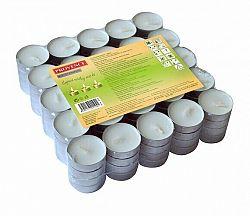 Provence Čajová sviečka 100 ks biela