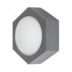 Rabalux 7964 Avola Vonkajšie LED nástenné svietidlo, čierna