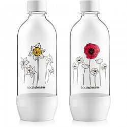 Sodastream Fľaša 1l DUO PACK KVETINY