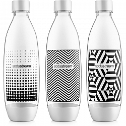 SodaStream Fľaša TriPack 1l Fuse Black&White