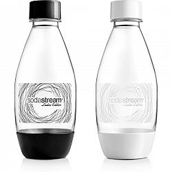 Sodastream láhev 0.5l dámská 2ks B&W Grass LE