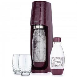 SODASTREAM Spirit Výrobník sódy, slivková 42003185