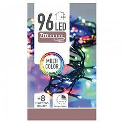 Svetelná reťaz vianočná Twinkle multicolor, 96 LED