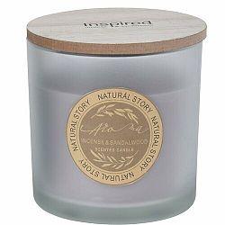 Sviečka v skle Natural story Incense & Sandalwood