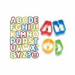 Tescoma Delícia Kids, Vykrajovače abeceda, 34 ks