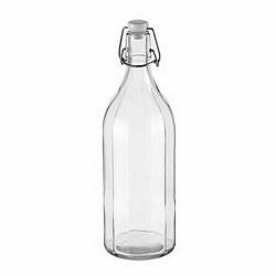 TESCOMA fľaša s klipsou hranatá TESCOMA DELLA CASA 1000 ml