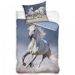 Tiptrade Bavlnené obliečky Kôň Belko, 140 x 200 cm, 70 x 90 cm
