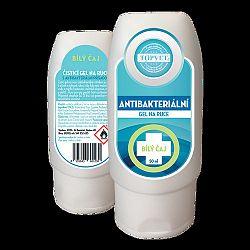Topvet Antibakteriálny gél na ruky Biely čaj 50ml