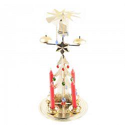 Tradičné anjelské zvonenie Stromček, zlatá