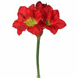 Umelá Amarylis červená, 52 cm