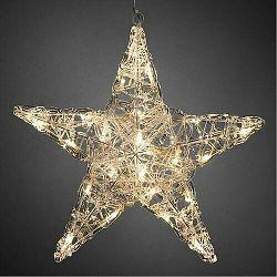 Vianočná 5-cípa hviezda pr. 40 cm, 24 LED