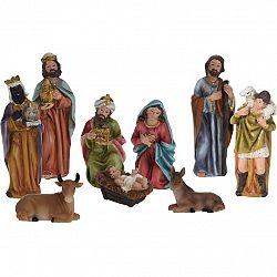 Vianočná dekorácia Betlehem, 9 postáv