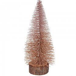 Vianočná dekorácia Glitter Tree, 25 cm