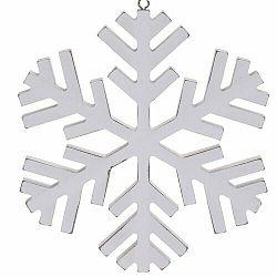 Vianočná závesná dekorácia Foligno, biela