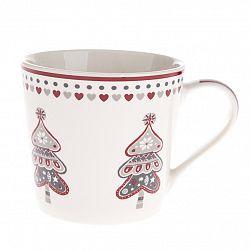Vianočný porcelánový hrnček Stromček, 400 ml
