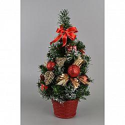 Vianočný stromček Growell červená, 35 cm