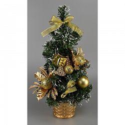 Vianočný stromček Vestire zlatá, 35 cm