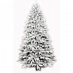 Vianočný zasnežený stromček so stojanom Cardiff, 120 cm